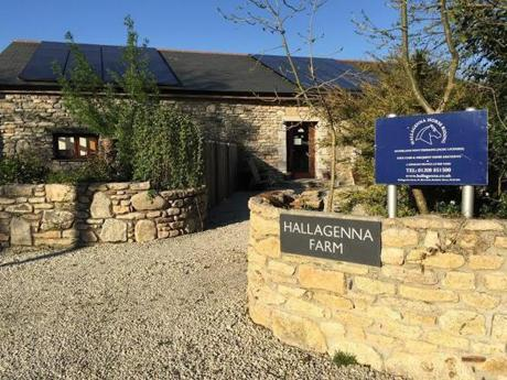Hallagenna's self-catering guest cottage.